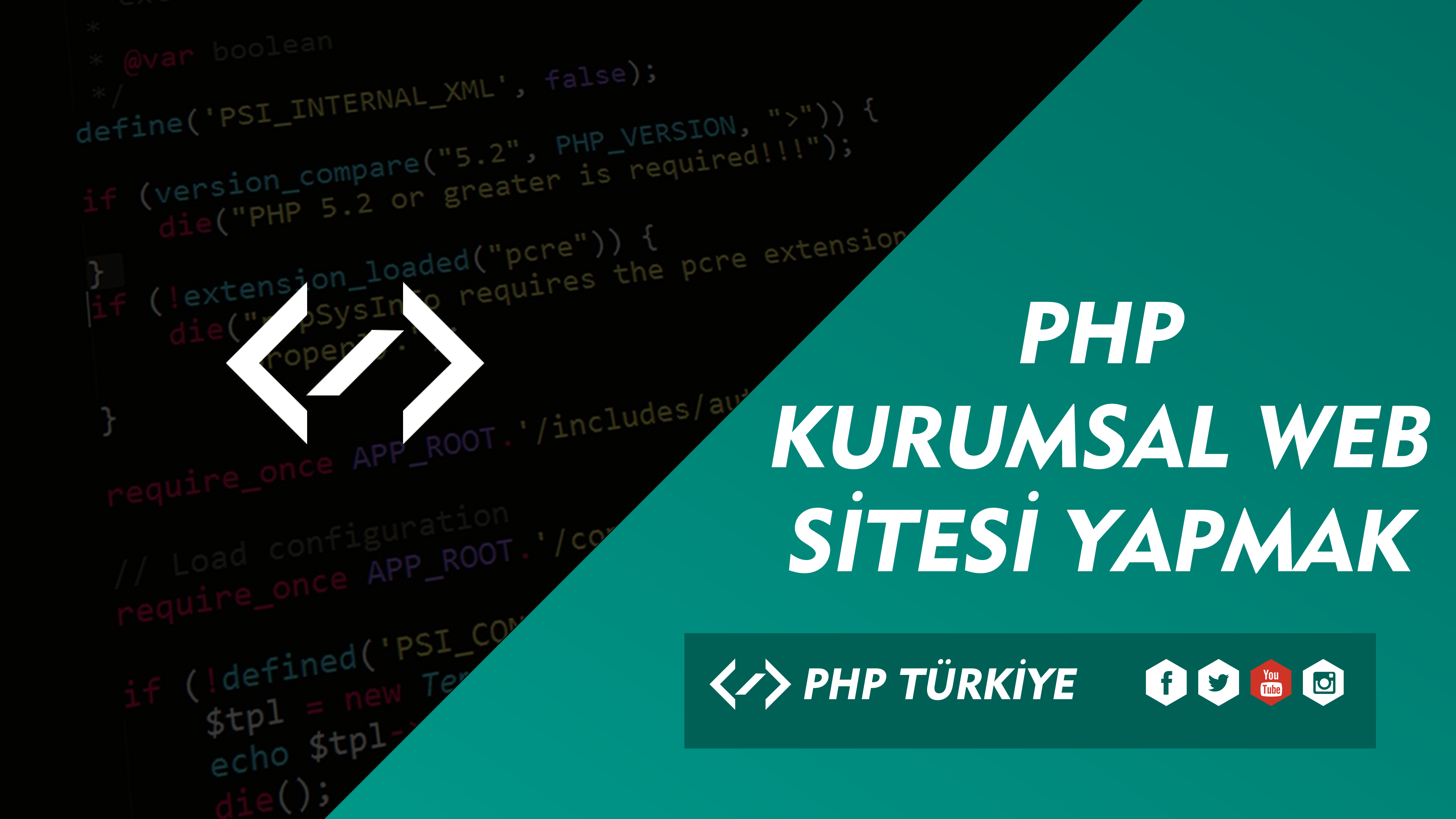 PHP İle Kurumsal Site Eğitimleri