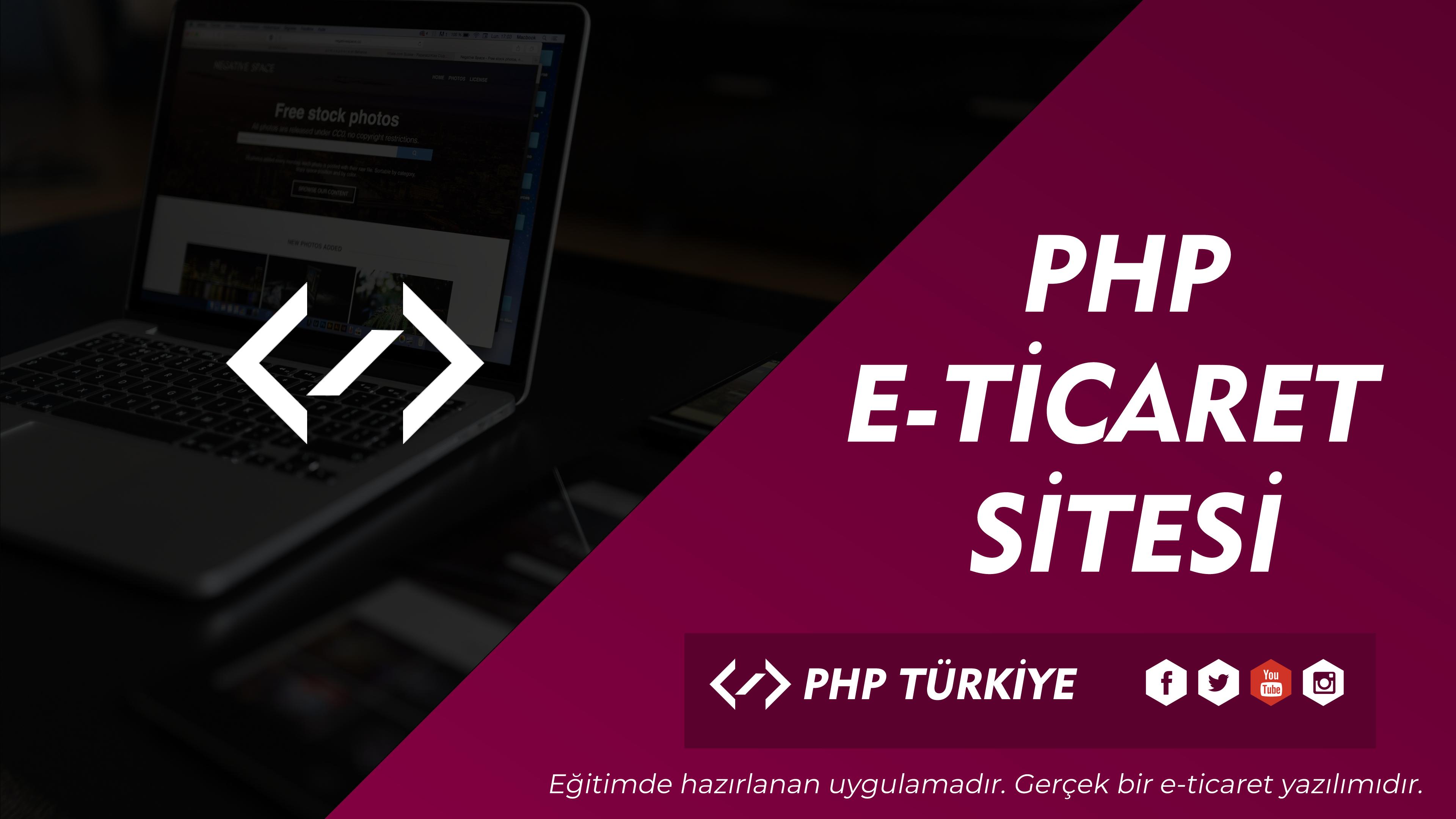 PHP E-Ticaret Yazılımı