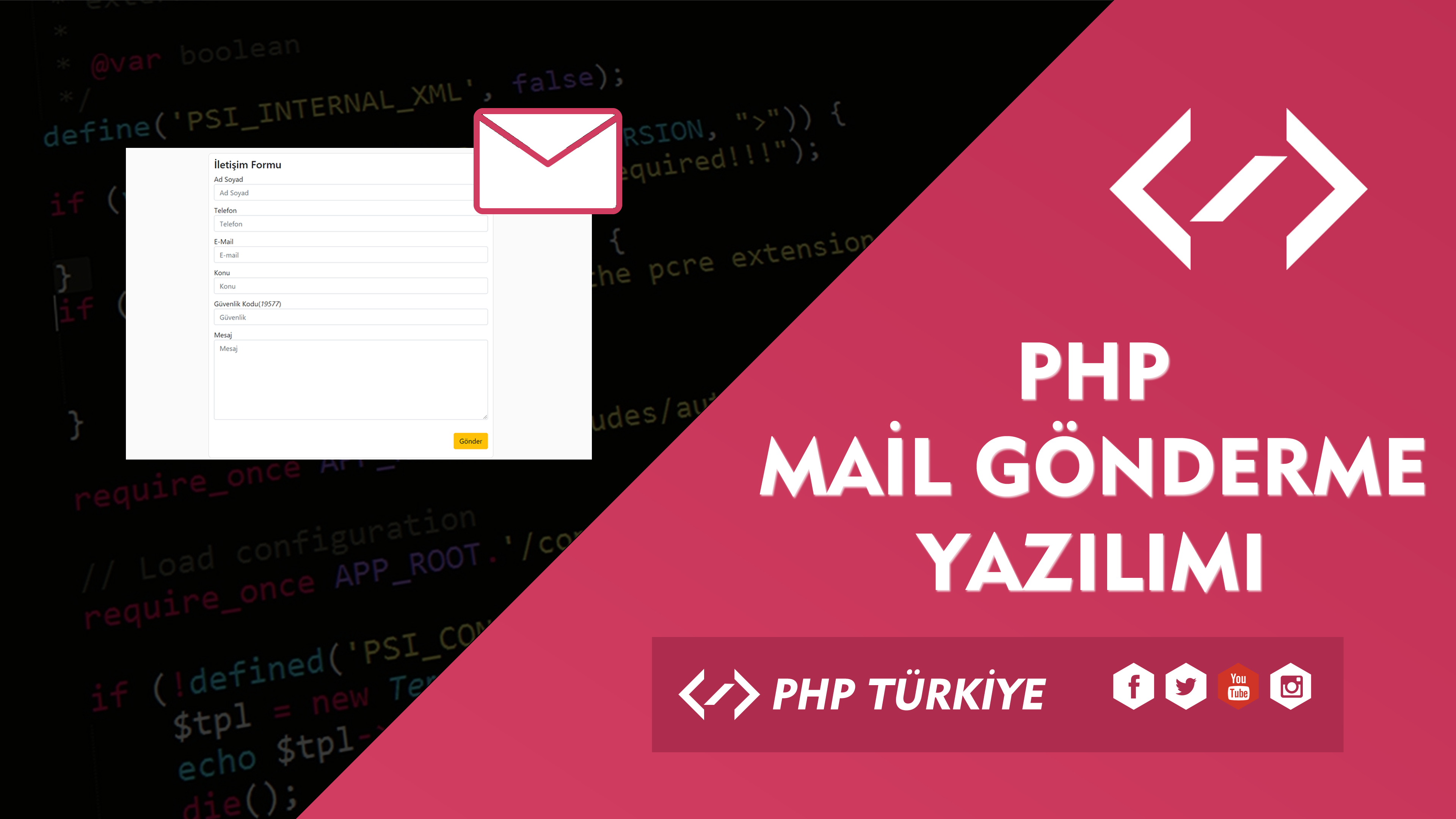 PHP İle Mail Gönderme Yazılımı